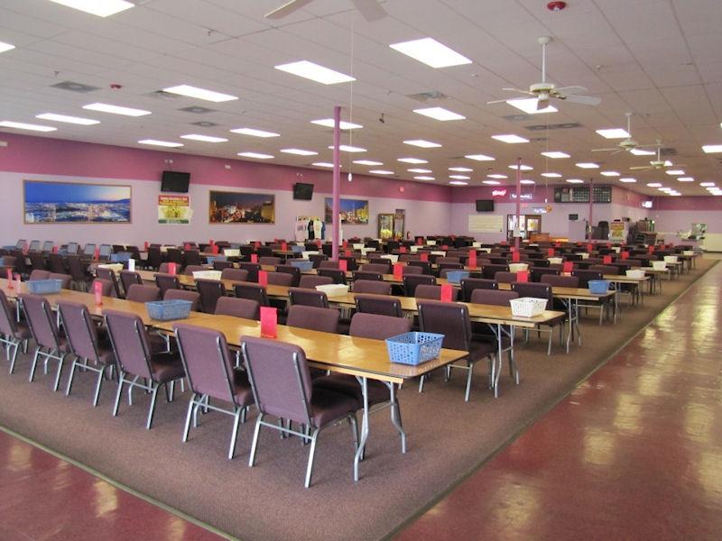 Balcones Bingo, Interior