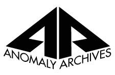 Anomaly Archives Logo