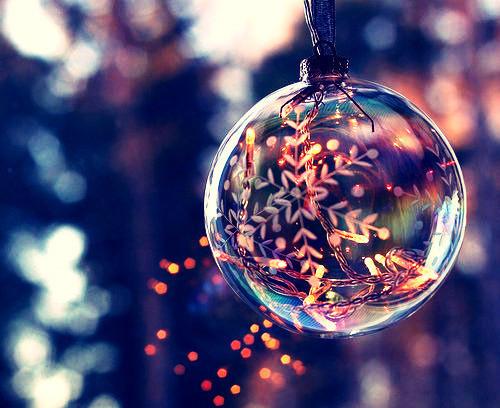 Holiday Glass Ball