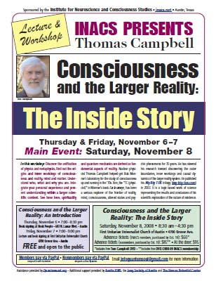 preview of Flyer for Tom Campbell
